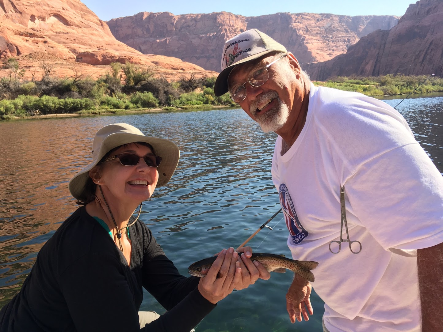 Angler report lees ferry fish az for Azgfd fishing report