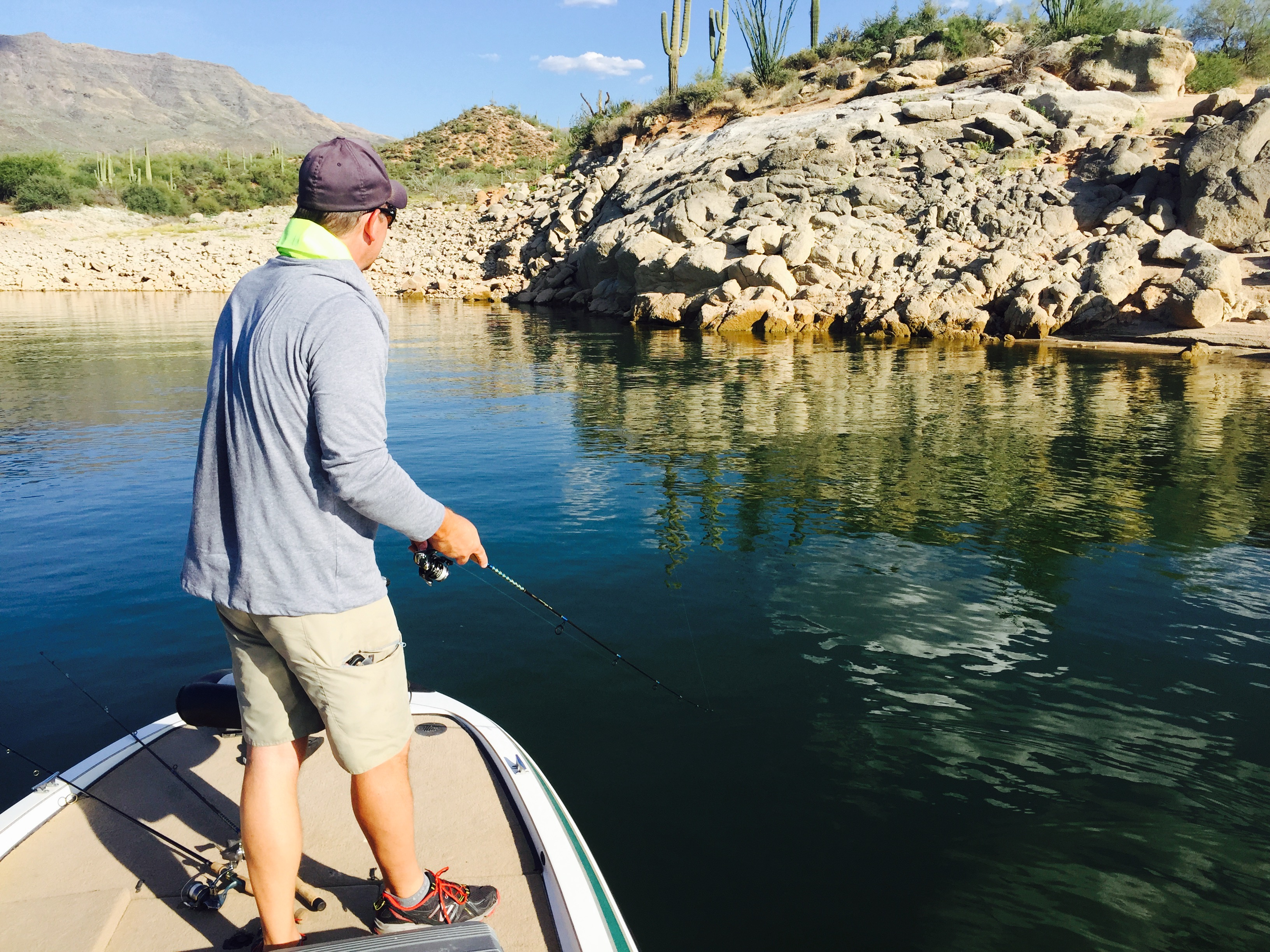 Fishing Report: Central region -- Saguaro bass bite strong, top